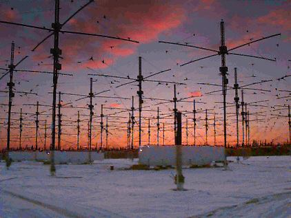 Antenne dell'Haarp